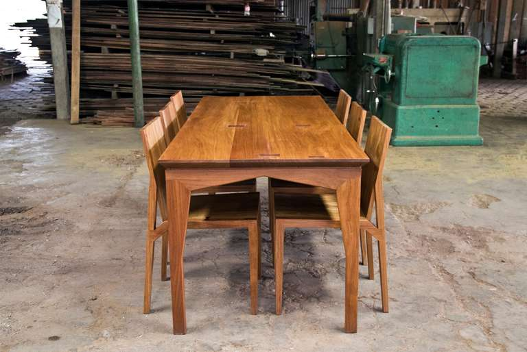 Sydeny Dining Table In Frijolillo By Aaron Poritz For Sale