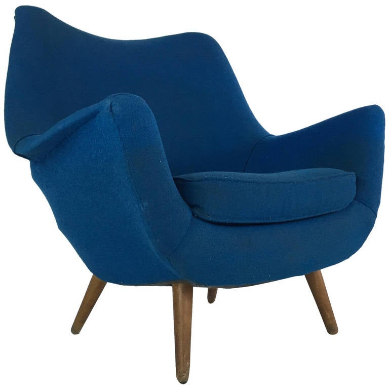 Sculptural Lounge Chair by Lawrence Peabody for Selig