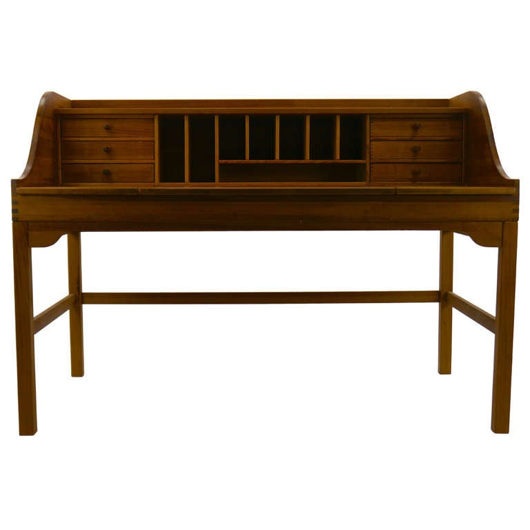 Large andreas hansen writer 39 s desk in oregon pine at 1stdibs Andreas furniture