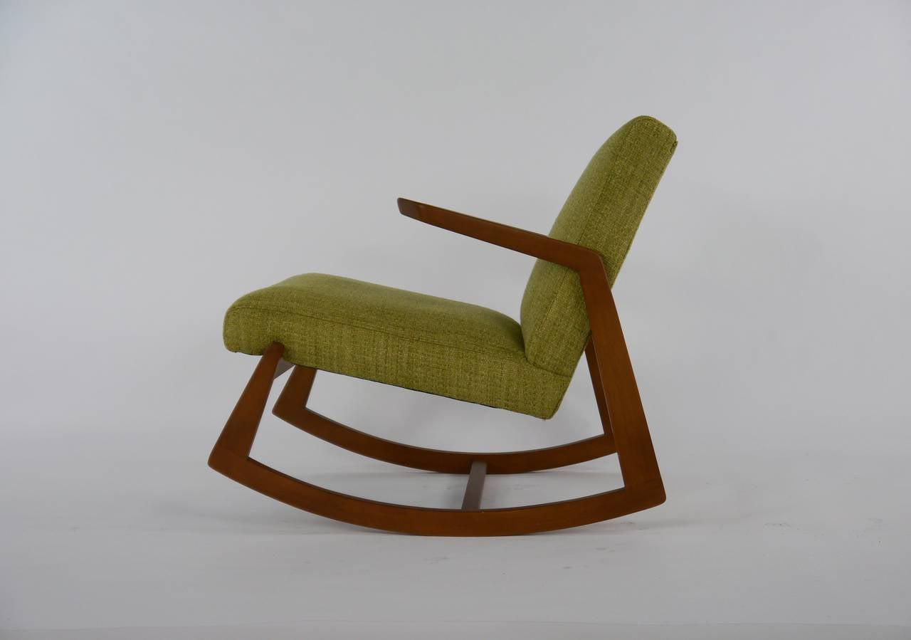 Rare rocker chair by ralph rapson for knoll at 1stdibs - Knoll rocking chair ...