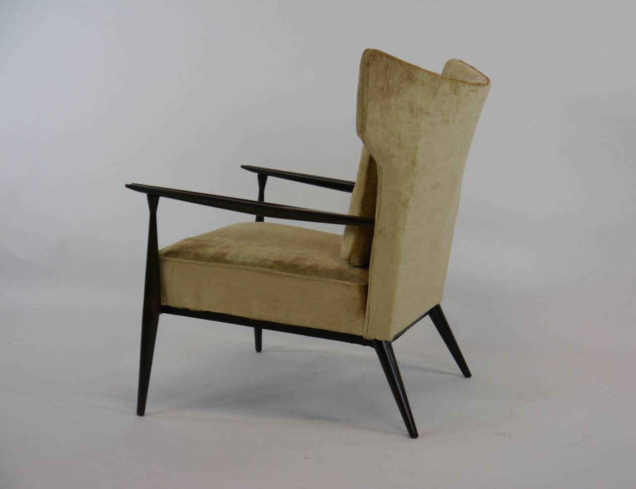 Rare Paul McCobb Wing Lounge Chair at 1stdibs