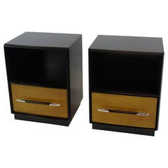 Tulip Collection Nightstands by T.H. Robsjohn-Gibbings for Widdicomb
