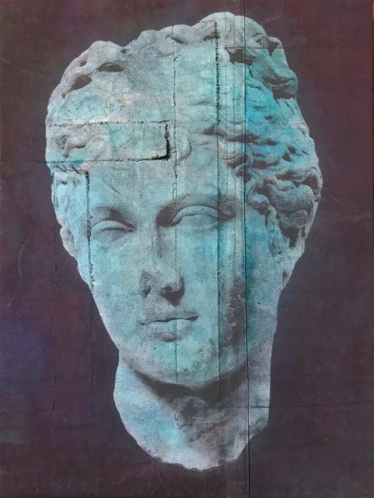 <i>Feminine Head III</i>, 2016, by Luca Pignatelli, offered by Rademakers Gallery