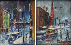 New York City Street Scenes