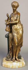 Bronze Figure of the Muse Erato