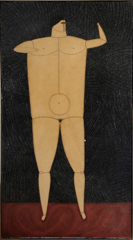 Interior with Standing Man, 1955 2