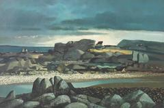 Irish Coastal Landscape
