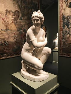 Extraordinary Italian 19th Century Marble Nude  Sculpture of Aphrodite