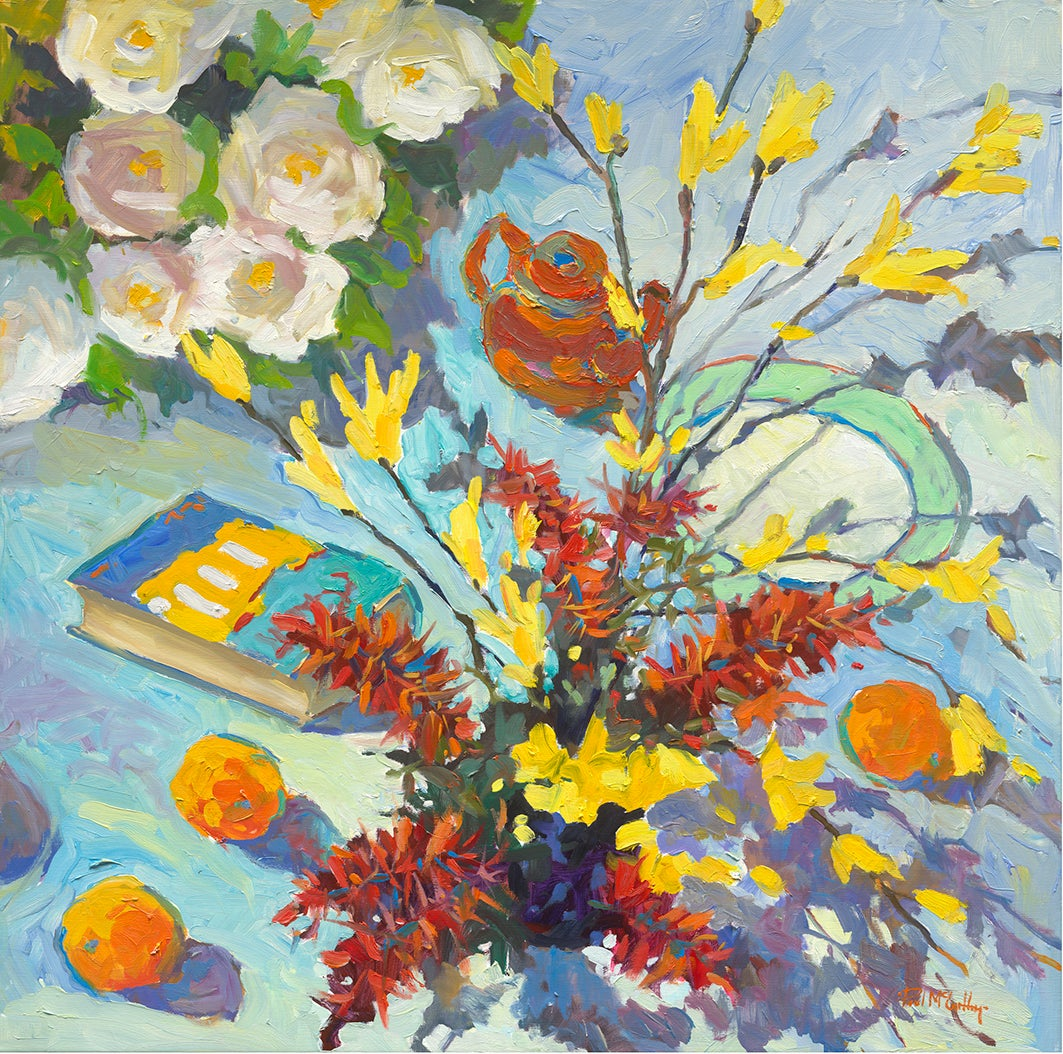 The Artists Table - Still Life Painting by Paul McCarthy