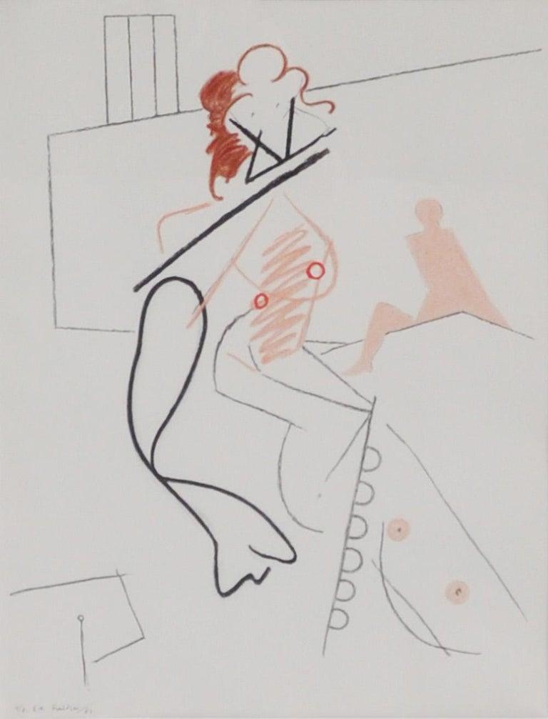 Wilhelm Freddie, signed Lithograph #4/8, 1987 (Epreuve D'Artiste)