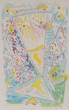 Eigill Jacobsen Lithograph, (Epreuve D'Artiste) signed 1995