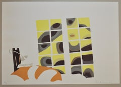 Erik A. Frandsen, signed and numbered Lithograph, 2002