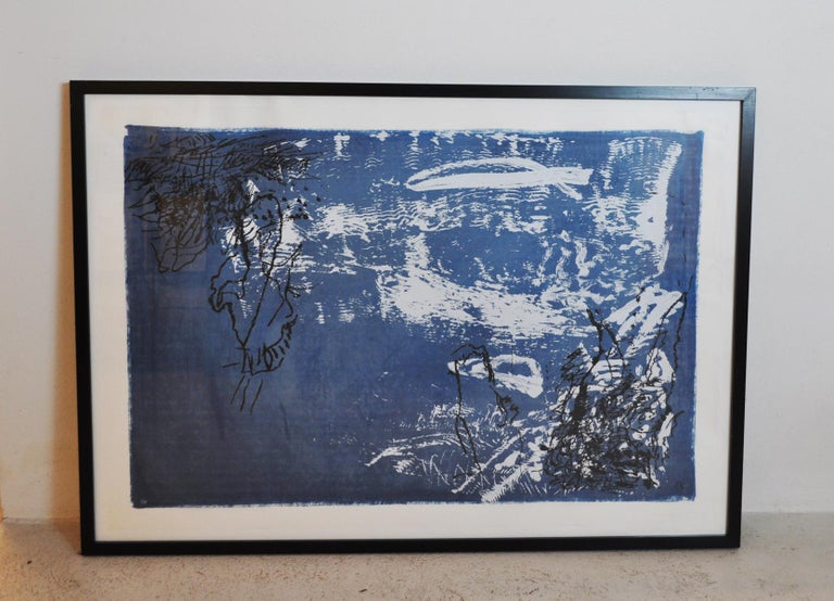 Per Kirkeby, Lithograph, Signed, EA - Abstract Expressionist Print by Per Kirkeby