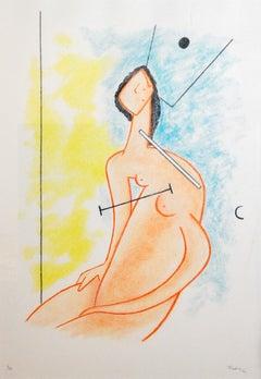 Wilhelm Freddie, signed Lithograph #4/120, 1991