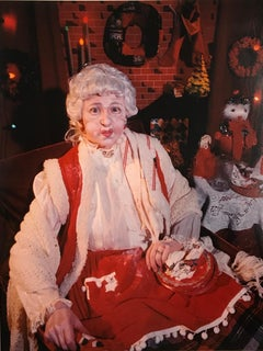Cindy Sherman, Mrs Claus, 1990, Feminism, Self Portrait, Photography