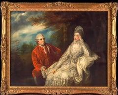 David Garrick and Eva Maria Garrick ( née Veigel )