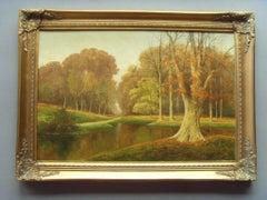 Autumnal Meadow Landscape