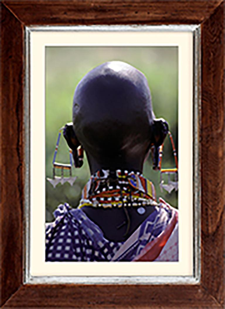 Image of a Maasai Youth, Kenya – Giclee Print