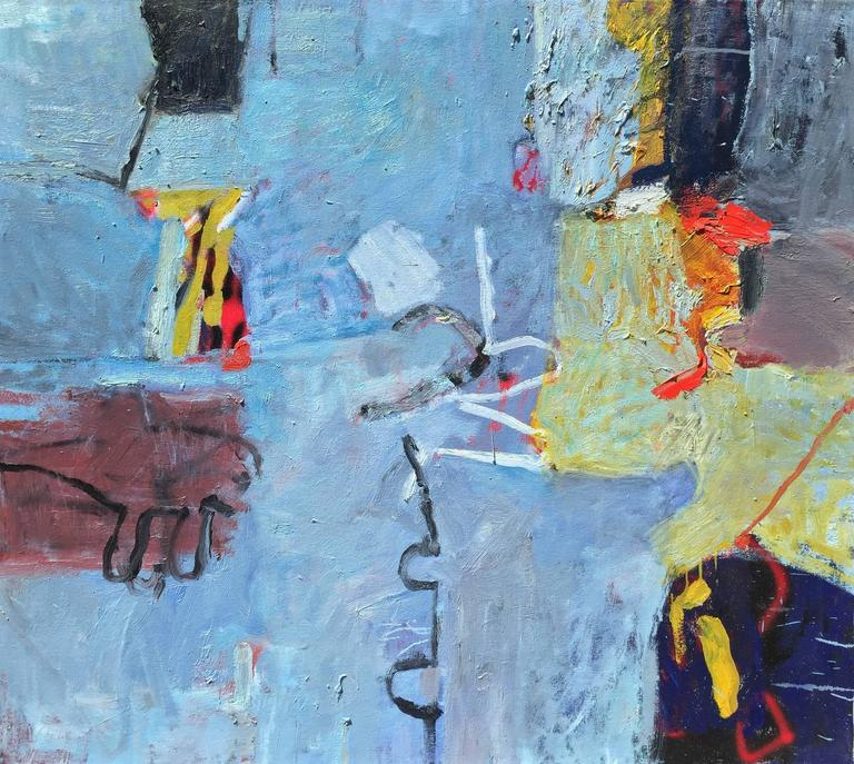 Margaret Glew Abstract Painting - Untitled