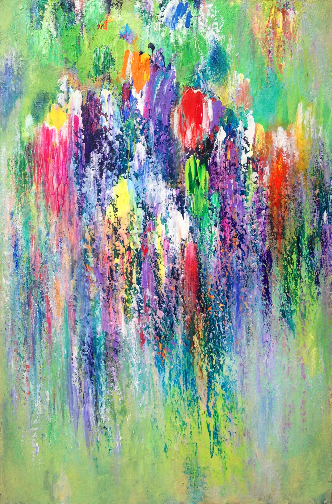 Paul Fournier Abstract Painting - Spring Song