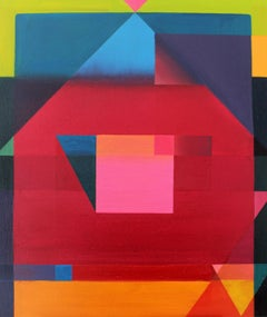Composition - XXI Century, Oil painting, Contemporary Abstract