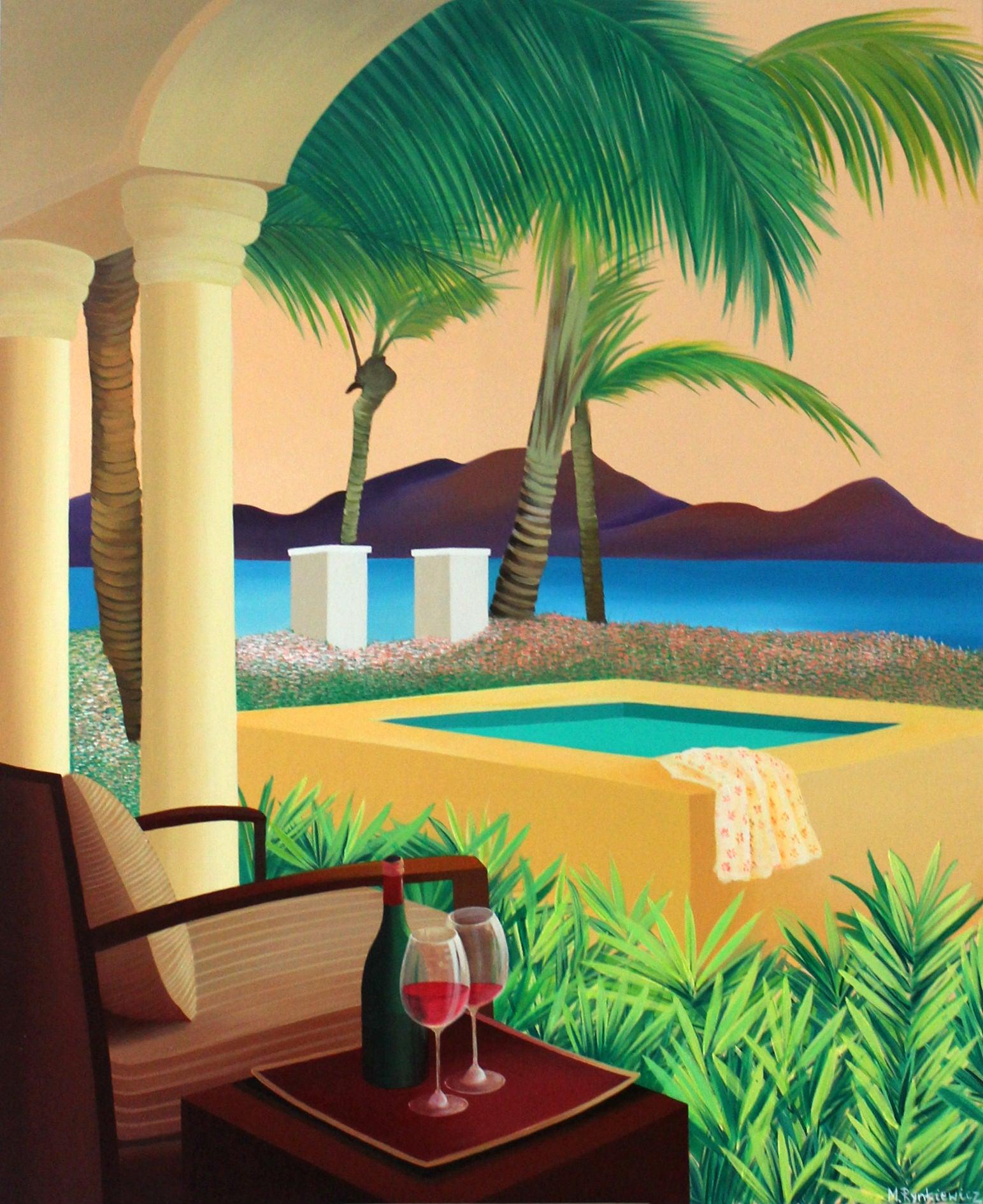Finally, vacation - XXI Century, Contemporary Acrylic Painting