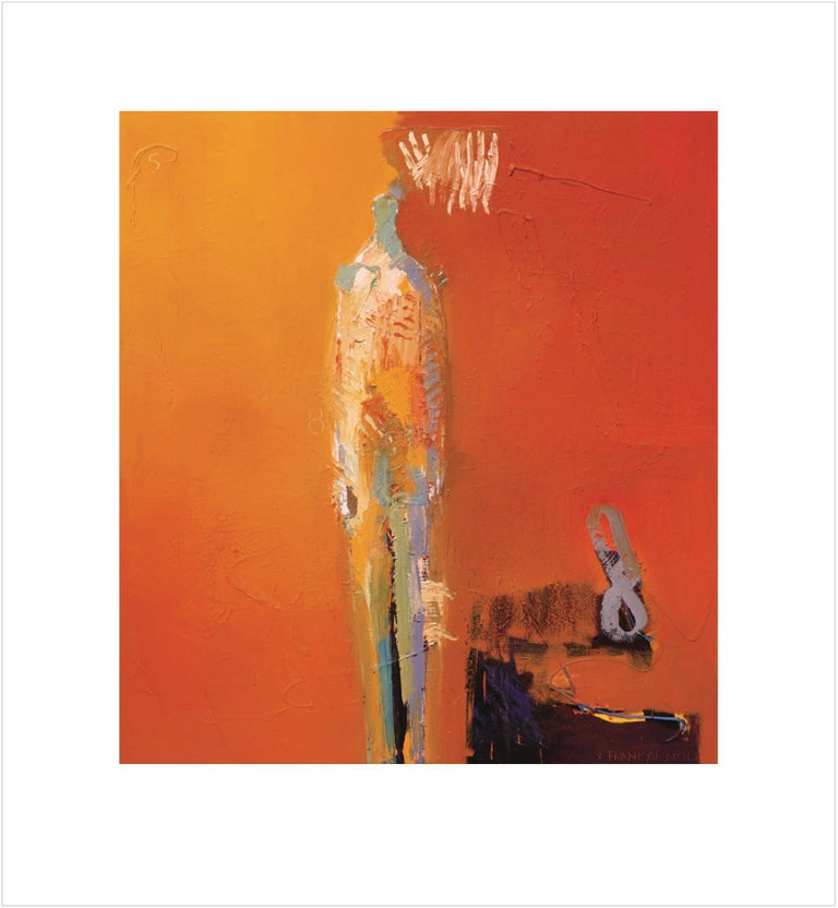 """""""Sol"""" Limited Edition Print by abstract-figurative artist, Frank Arnold"""