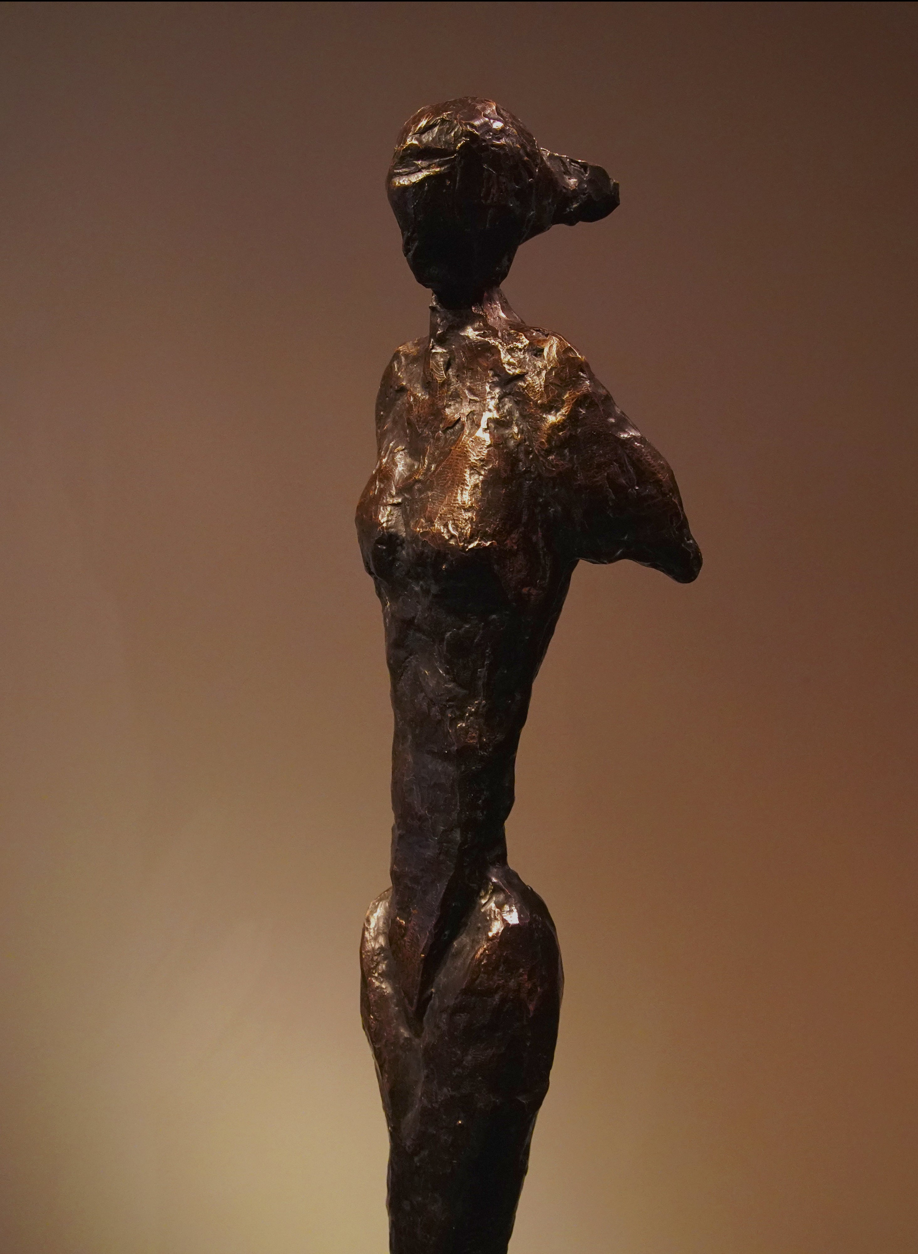 """""""Arise"""" by abstract-figurative artist, Frank Arnold of the U.S. and Mexico"""