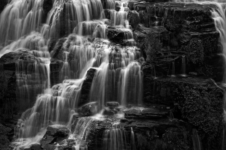 Chapada Diamantina Waterfall, Brazil - Black and White - Nature Photography