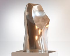 Silver Sculpture 'Phönix I' by Carola Eggeling
