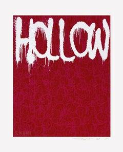 Hollow: Pink Silkscreen (Edition: 100) by Takashi Murakami