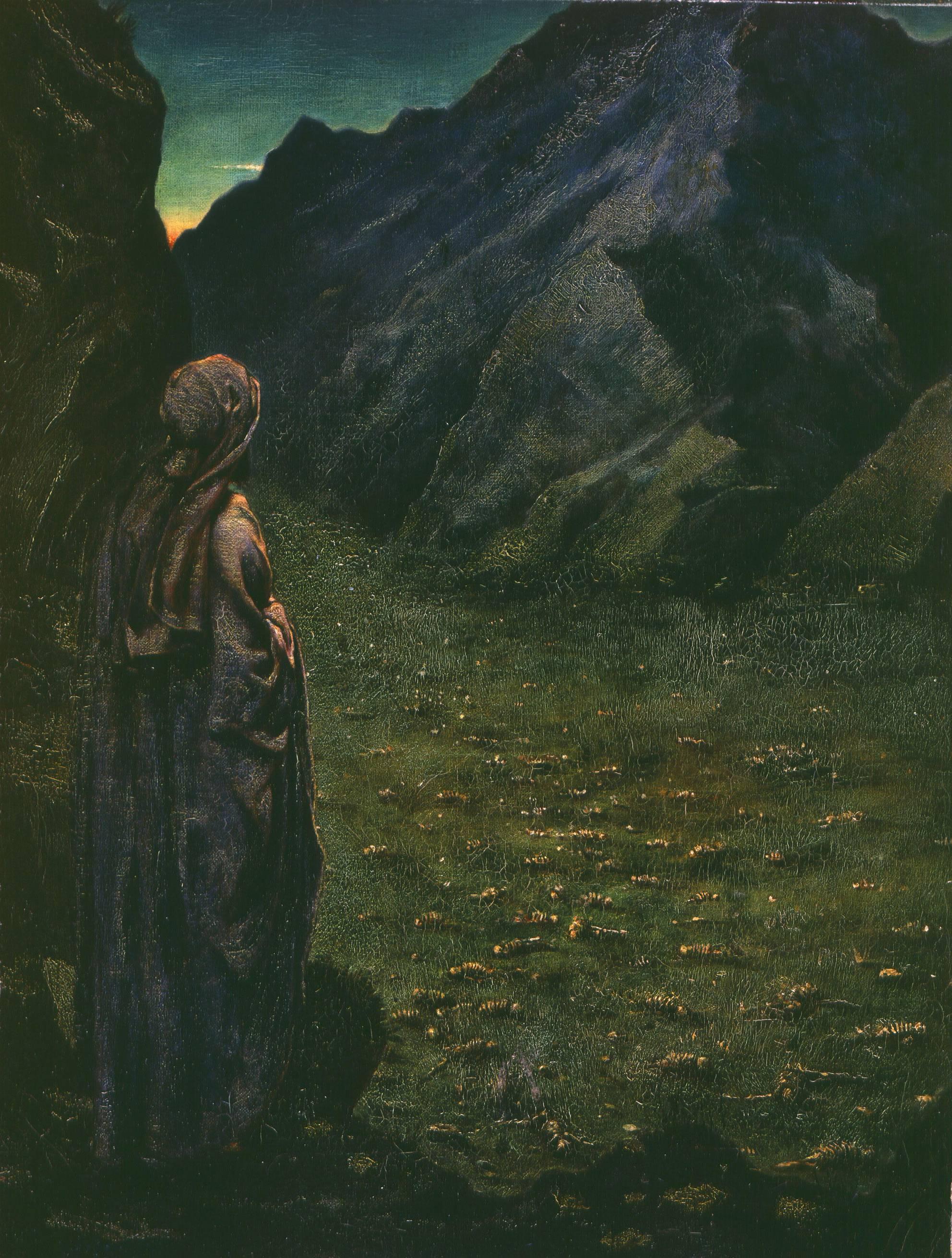 Ezekiel in the Valley of Dry Bones
