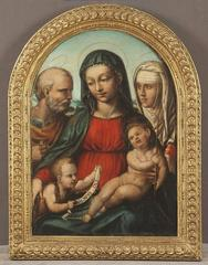 Holy Family with St. John the Baptist and St. Catherine of Siena