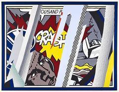 Roy Lichtenstein - Reflections on CRASH