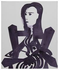 John Millei - Woman in a Chair