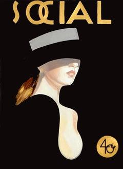 Noche SOCIAL, Cuban Art, Mixed Media, Andres Conde