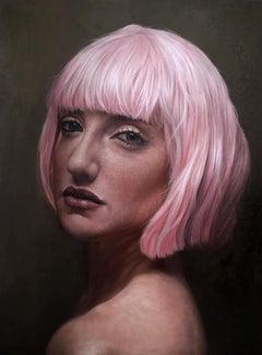 """Analucia"", Cuban Art, Oil on Canvas, Darian Rodriguez Mederos, 2017"
