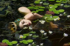"""Princess Frog"", Surreal, Russian Photographer, Natasha Kertes, Photograph, 2017"