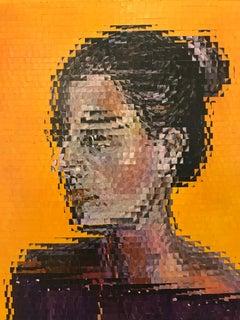 Realidad Fragmentada, Cuban Art, Acrylic Painting, Raiman Rodriguez Moya