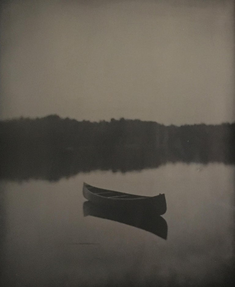 Curtis Wehrfritz, Lost Canoe, wetplate collodion. - Photograph by Curtis Wehrfritz