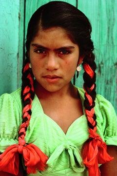 William Albert Allard, Girl in the Market, Oaxaca, Mexico, 1980