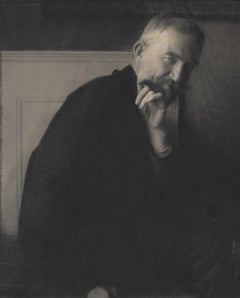 Edward Steichen. The Photographer's Best Model-Bernard Shaw, 1913, photogravure