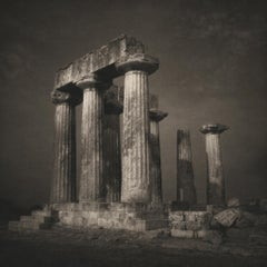 Keith Taylor, Temple of Apollo, Greece, 2011, platinum palladium print