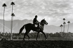 Norman Mauskopf, Santa Anita, Arcadia, California 1986, (horses in countryside)