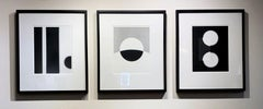 Philip Augustin, triptych, prints from both the Convergence and Studio Series