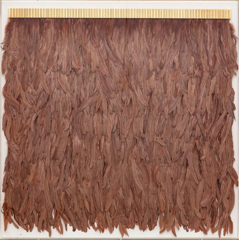 Copper Feathers, Icarus Collection, Specimen