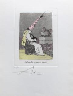 """""""Aquellos armarios tiñosos, Goya""""."""