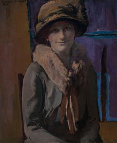 The Cloche Hat - Early 20th Century American Portrait of a Lady