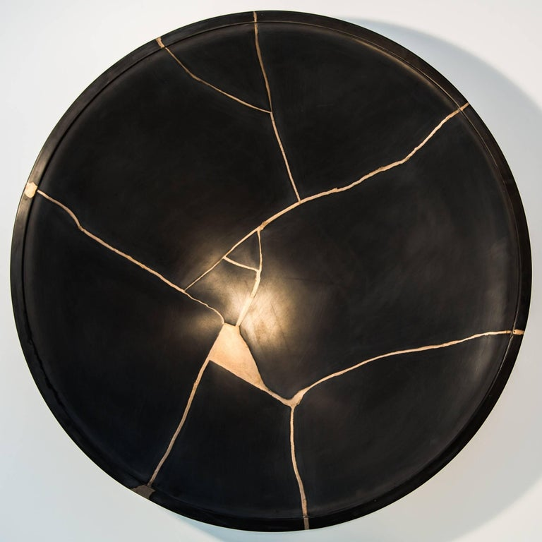 Kintsugi Sound Bowl(s) by Tom Palmer, inspired by Japanese art of Kintsugi For Sale 1
