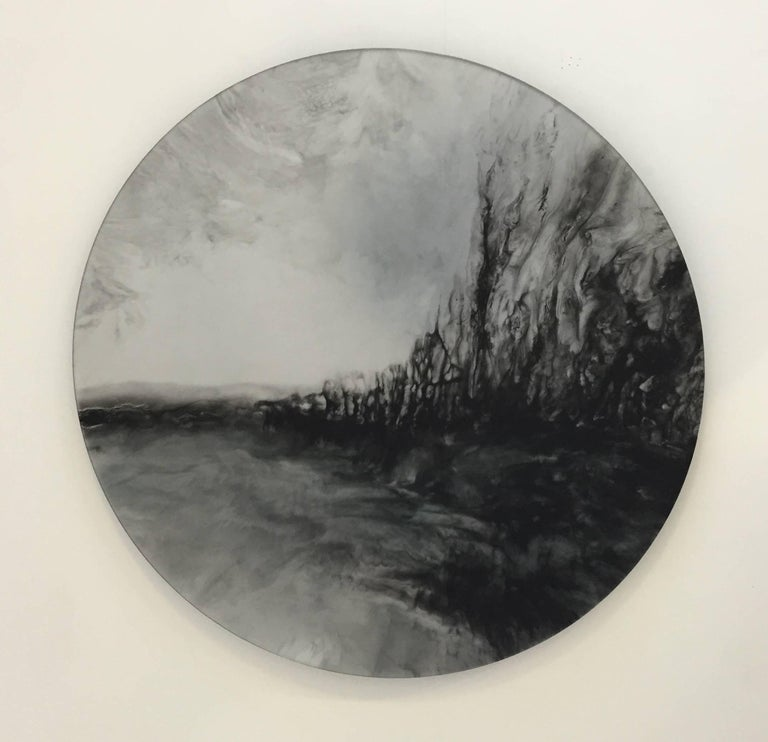 Ether (wall mounted reflective disc)